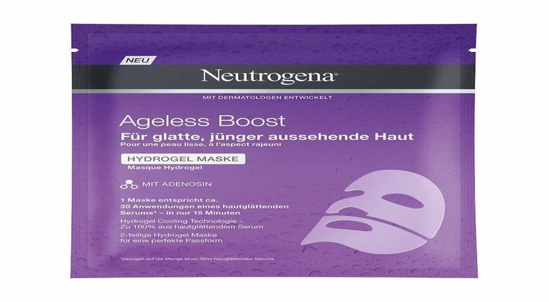 Maschera Viso Neutrogena Ageless Boost Idrogel
